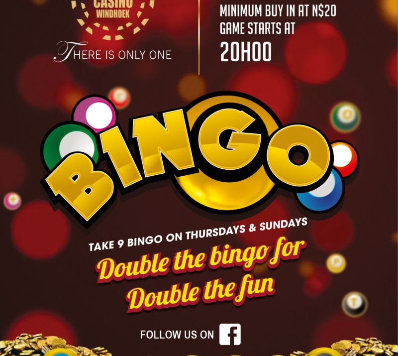 BINGO – Every Thursdays & Sundays